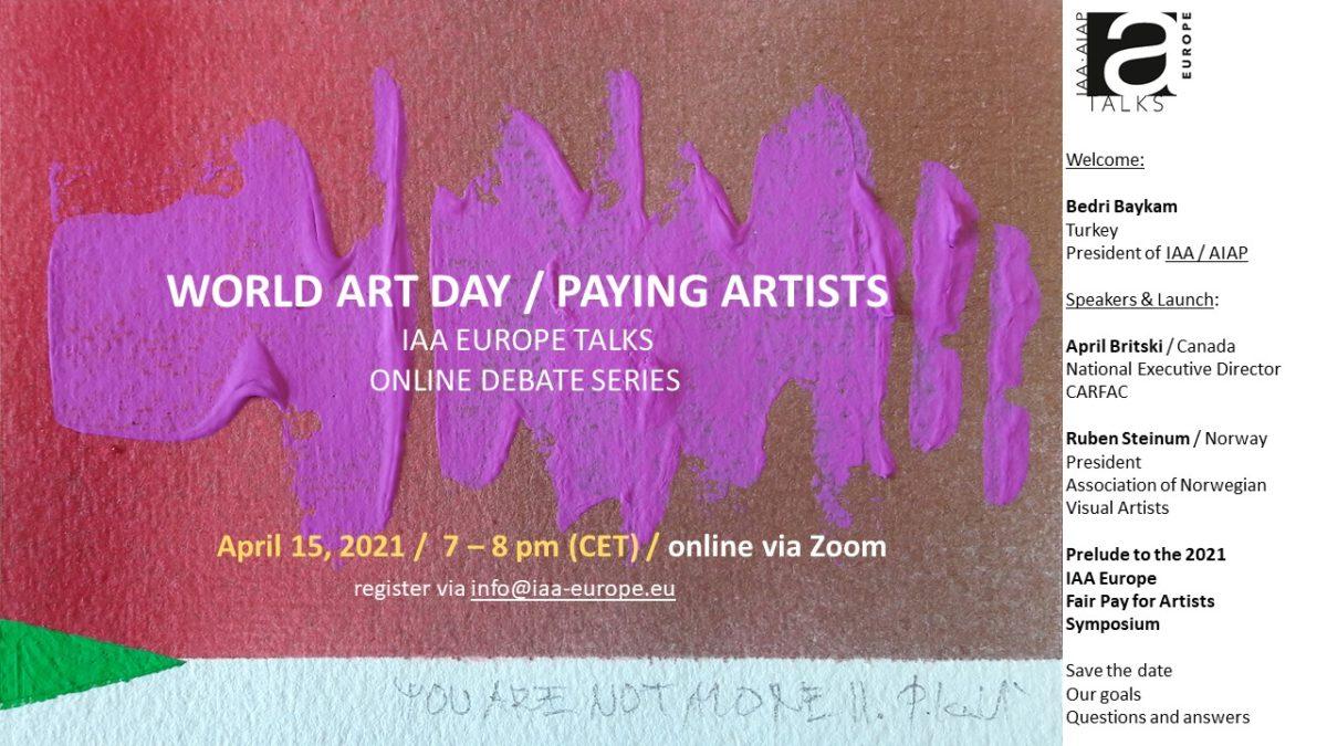Invitation IAA Talk World Art Day